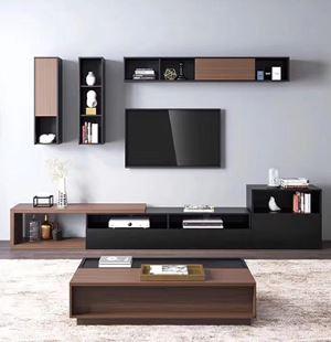 定制家具-矮柜式电视柜